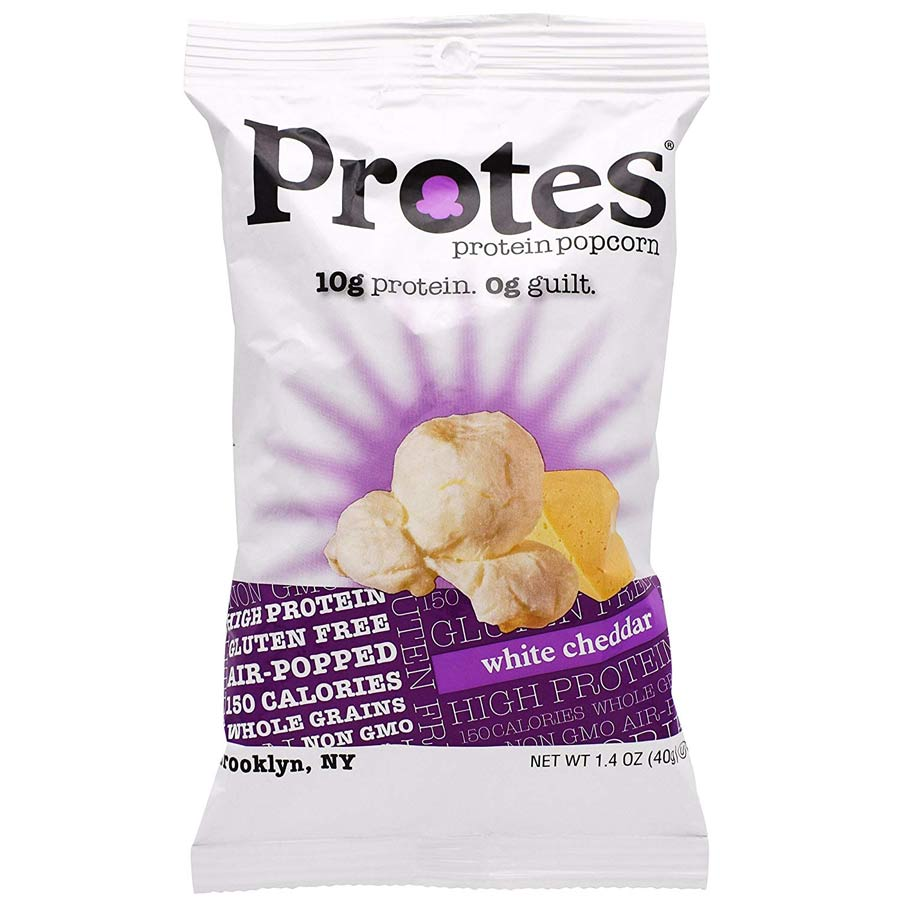 Image of Protes Protes Protein Popcorn 24 Pack White Cheddar