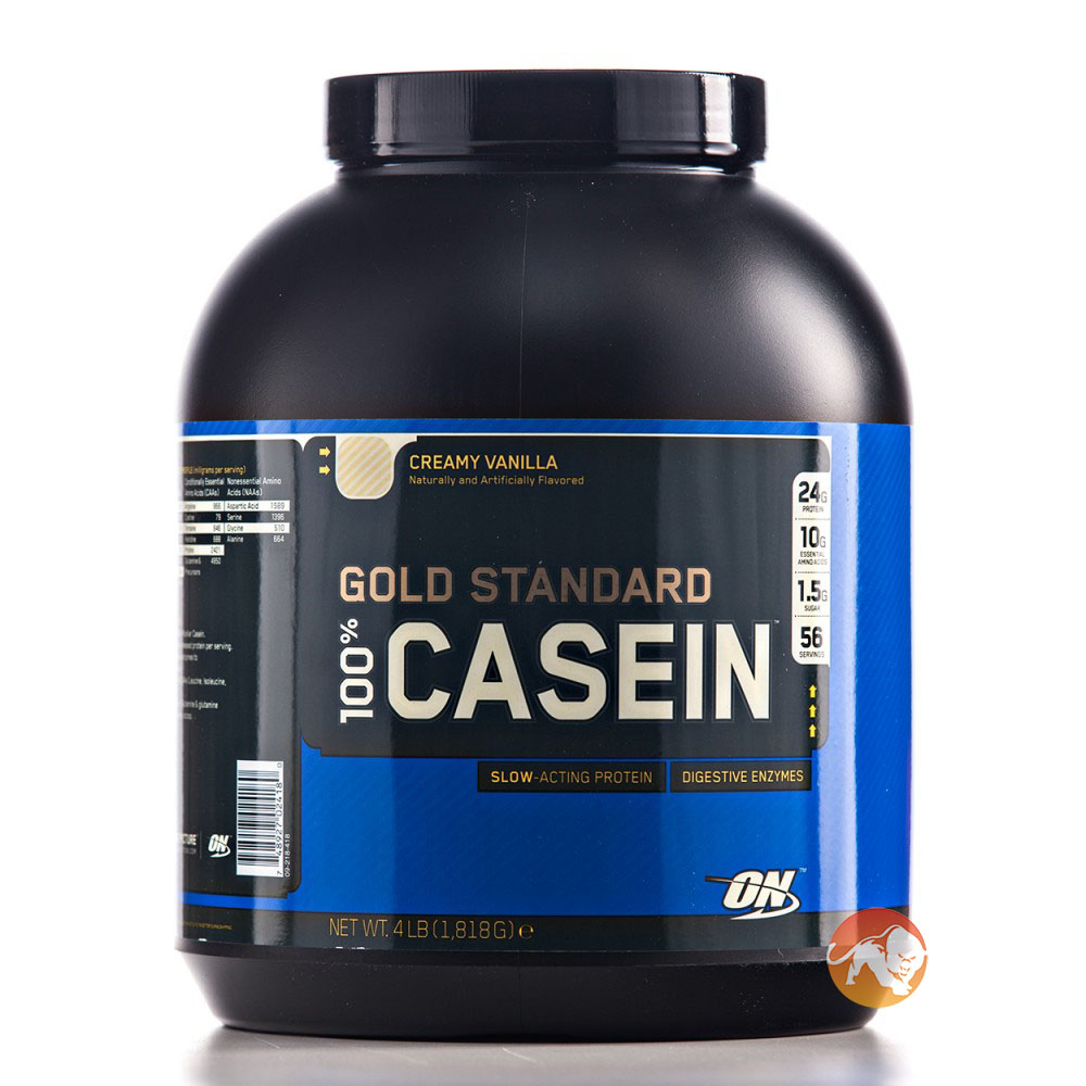 Gold Standard 100% Casein Protein 2lb -Strawberry