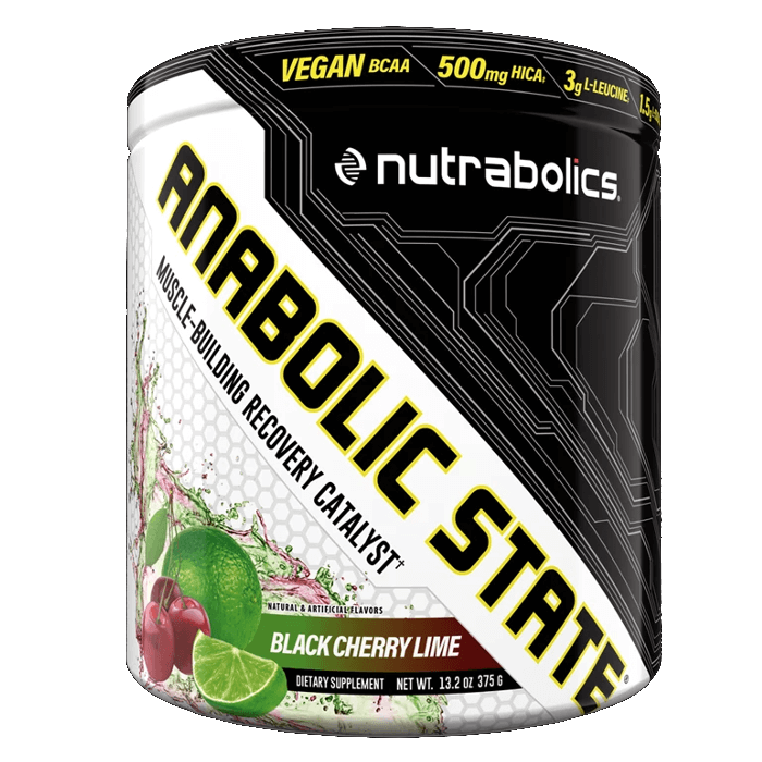 Image of Nutrabolics Anabolic State 30 Servings Black Cherry Lime