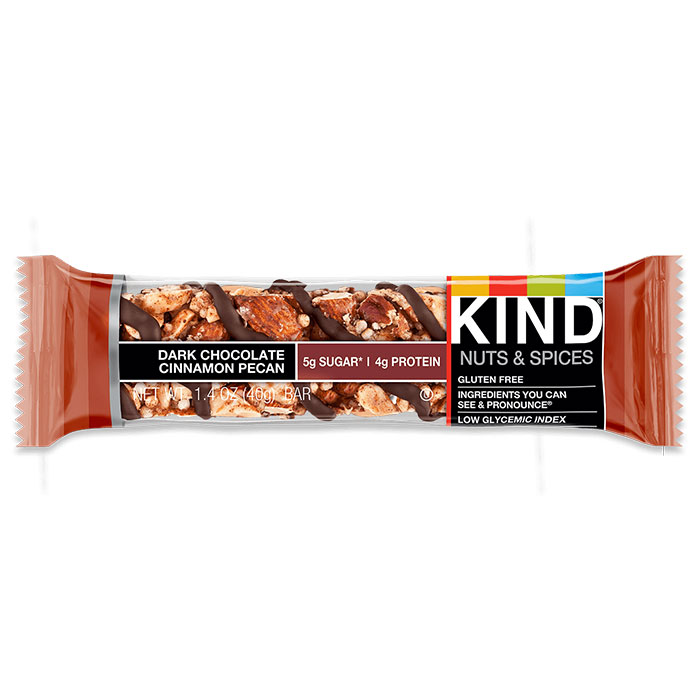 Kind Bars Nuts and Spices 1 Bar Dark Chocolate Cinnamon Pecan