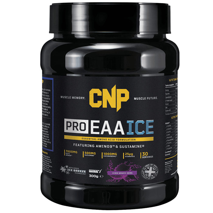 Image of CNP Professional Pro EAA Ice 30 Servings Iced Grape Soda