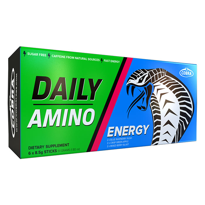 Image of Cobra Labs Cobra Labs Daily Amino 6 Servings Mixed Flavours