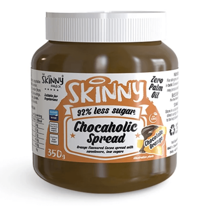 Image of The Skinny Food Co Low Sugar Chocaholic Chocolate Orange Spread 350g