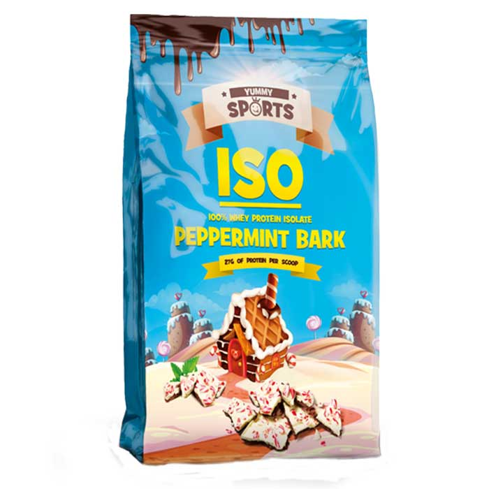 Image of Yummy Sports ISO 1kg Peppermint Bark