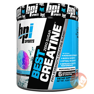 Best Creatine 50 Servings Blue Raspberry