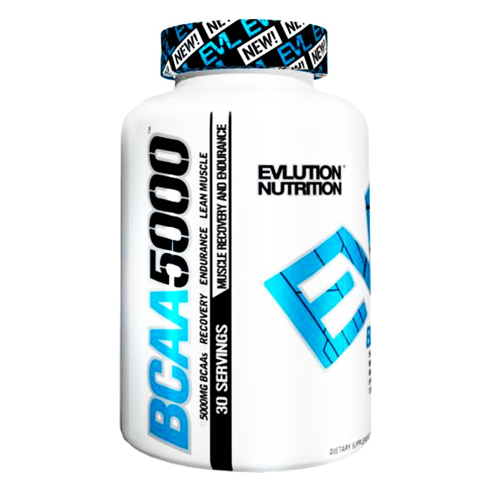 Image of Evlution Nutrition BCAA5000 240 Caps