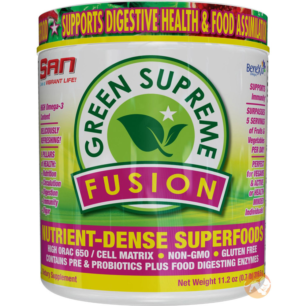 Image of S.A.N. Green Supreme Fusion 30 Servings