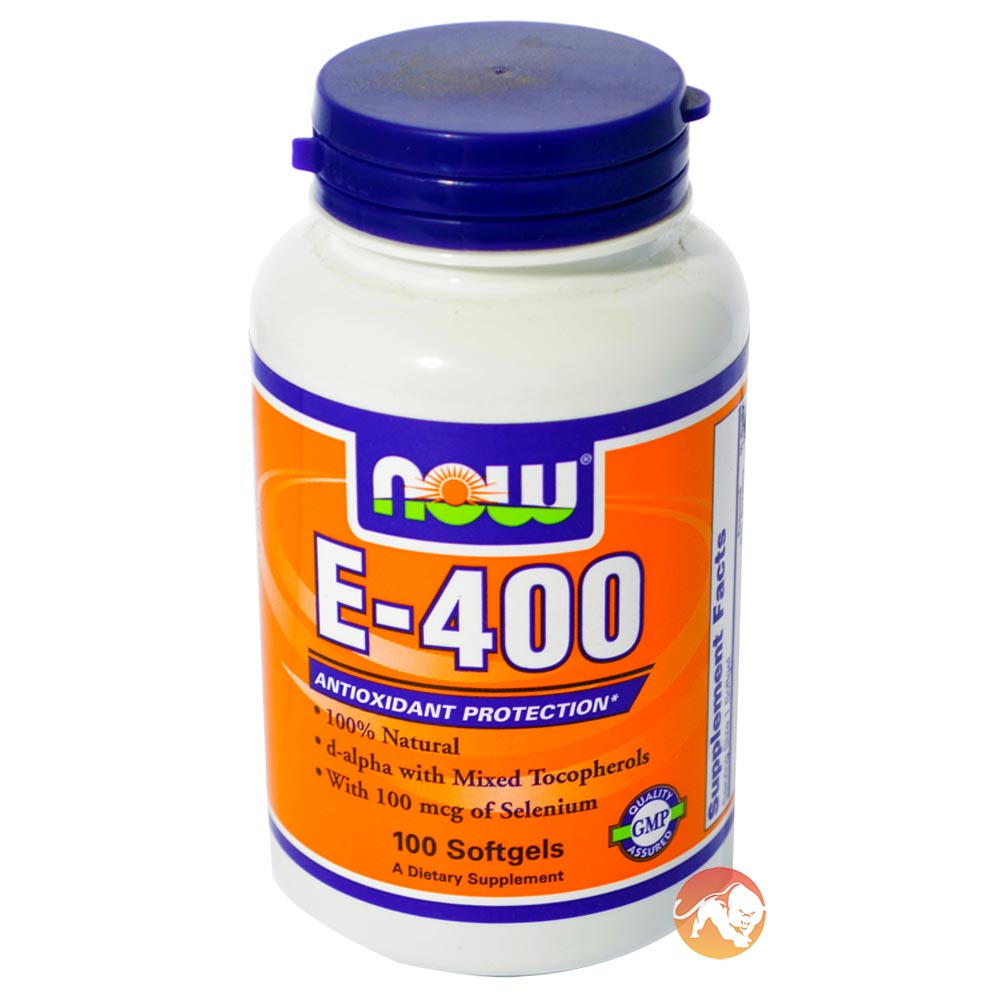 Image of NOW Foods E-400 DA 100 Softgels