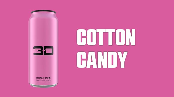 3D Energy Pink - Cotton Candy