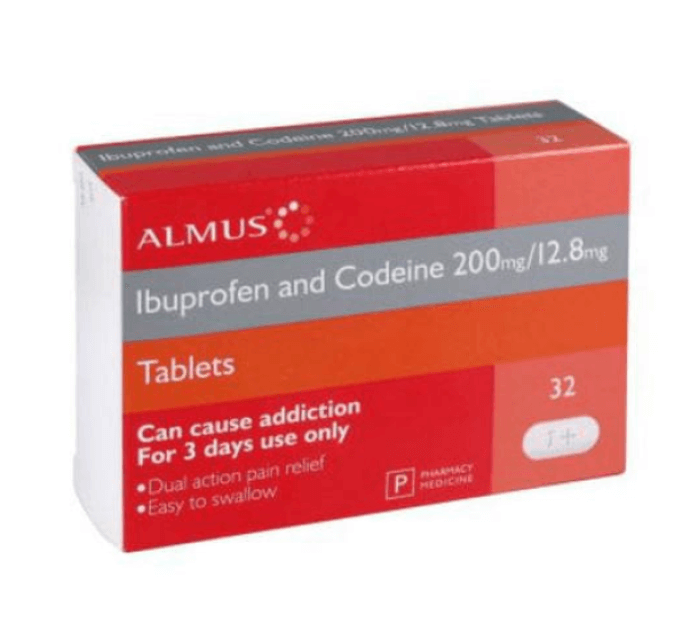 Image of Pharmacy Medicines Co-Codafen 32 Tablets