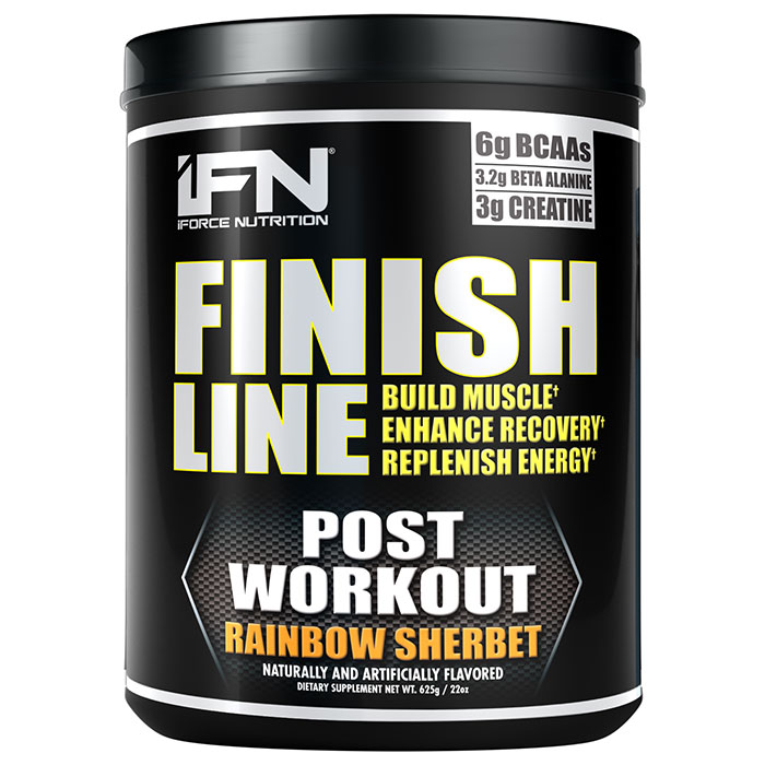 Finish Line 25 Servings Rainbow Sherbert