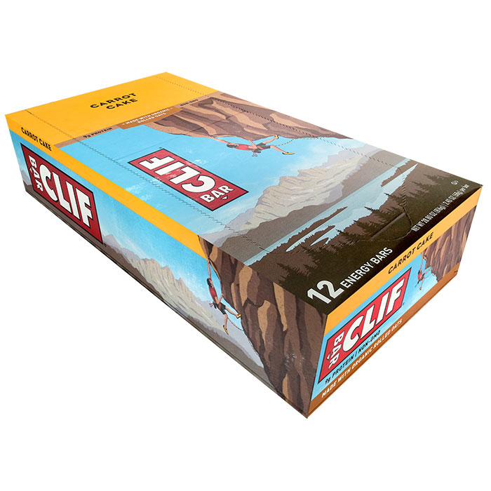 Image of Clif Bar Clif Bar 12 Bars Carrot Cake