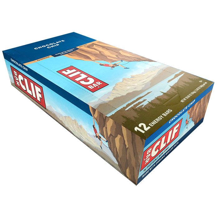 Image of Clif Bar Clif Bar 12 Bars Chocolate Chip