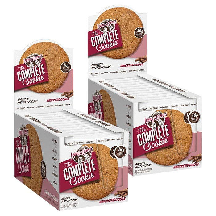 Image of Lenny & Larry's Complete Cookie 12 Pack Apple Pie