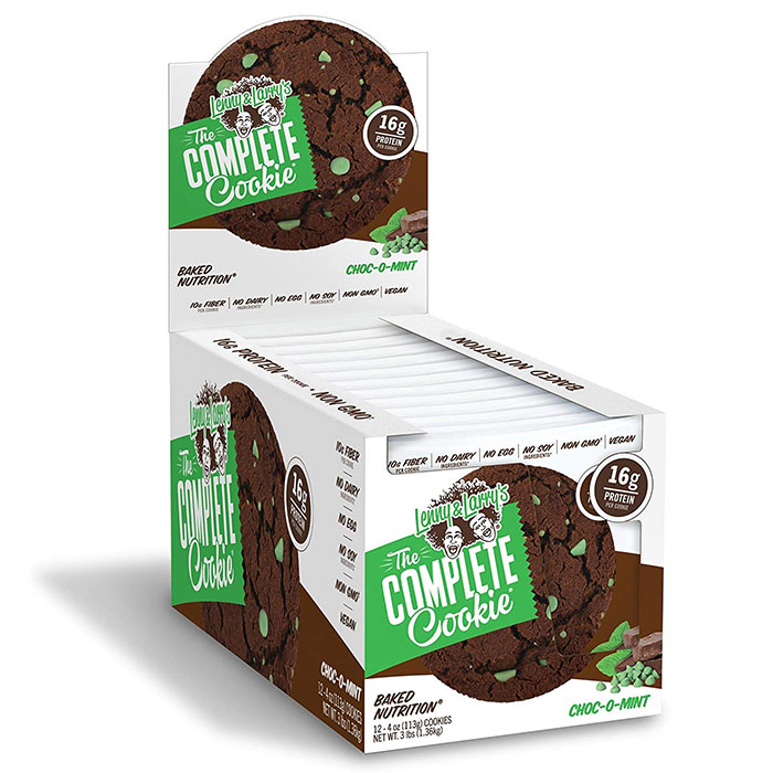 Image of Lenny & Larry's Complete Cookie 12 Pack Choc-o-Mint
