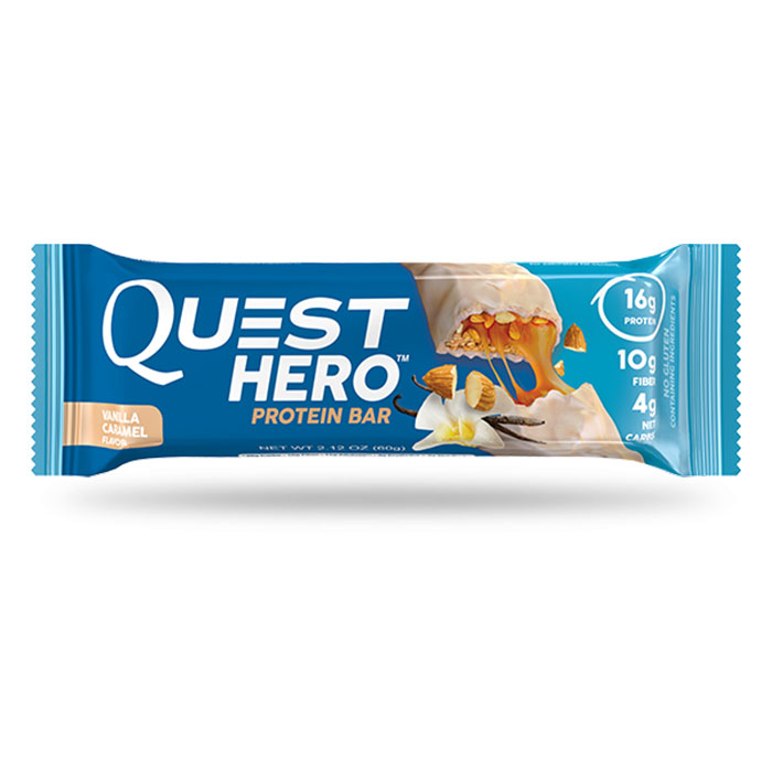 Quest Hero Bar 1 Bar Caramel Vanilla