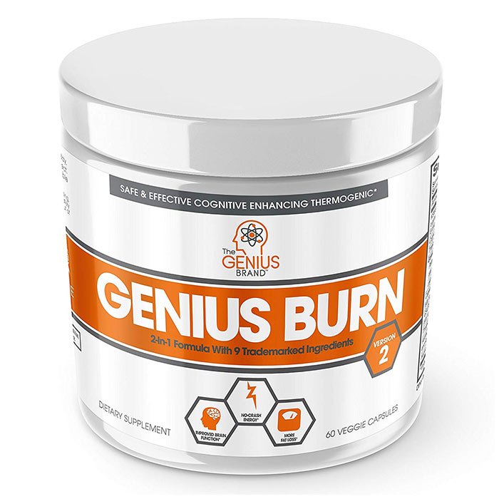 Image of The Genius Brand Genius Burn 60 Caps