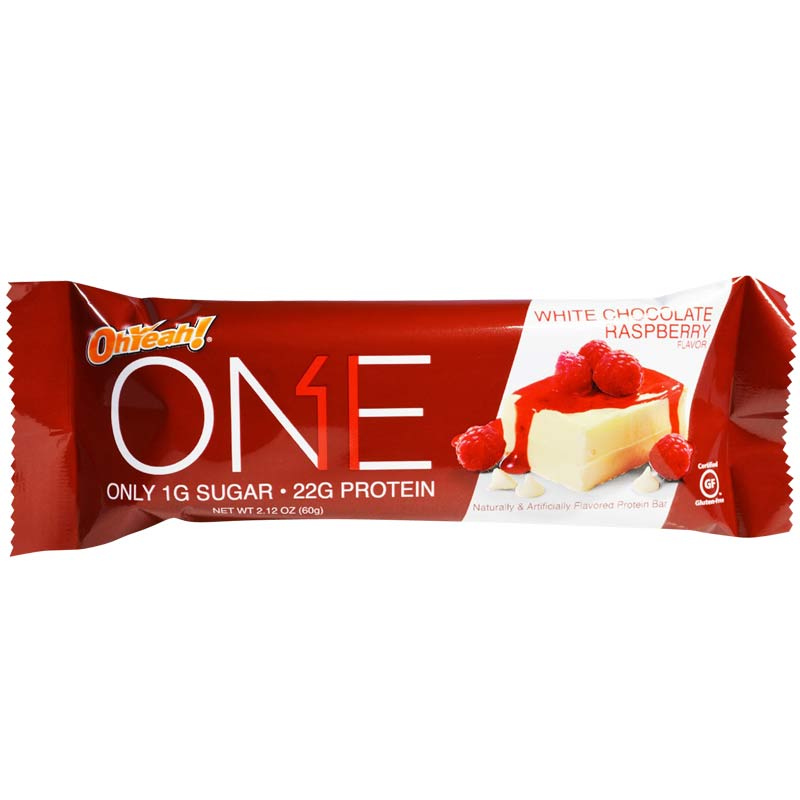 Oh Yeah One Bar 1 Bar White Chocolate Raspberry