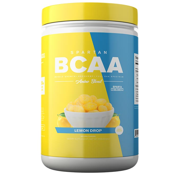 Image of Sparta Nutrition Spartan BCAA 30 Servings Lemon Drop