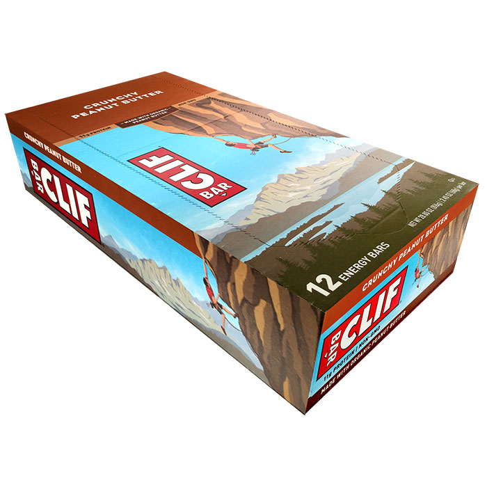 Image of Clif Bar Clif Bar 12 Bars Crunchy Peanut Butter