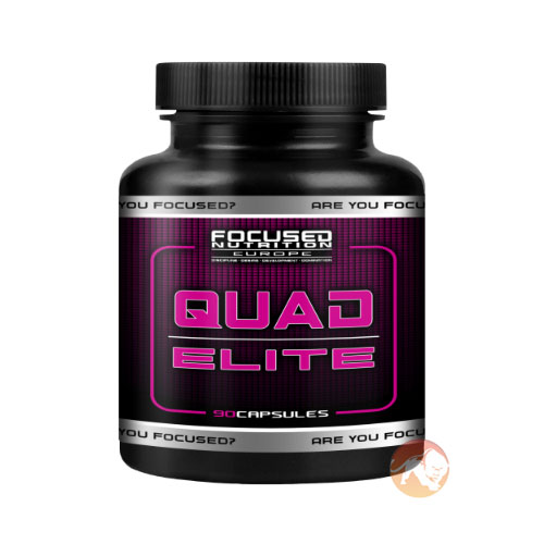 Image of Focused Nutrition Quad Elite 90 Capsules