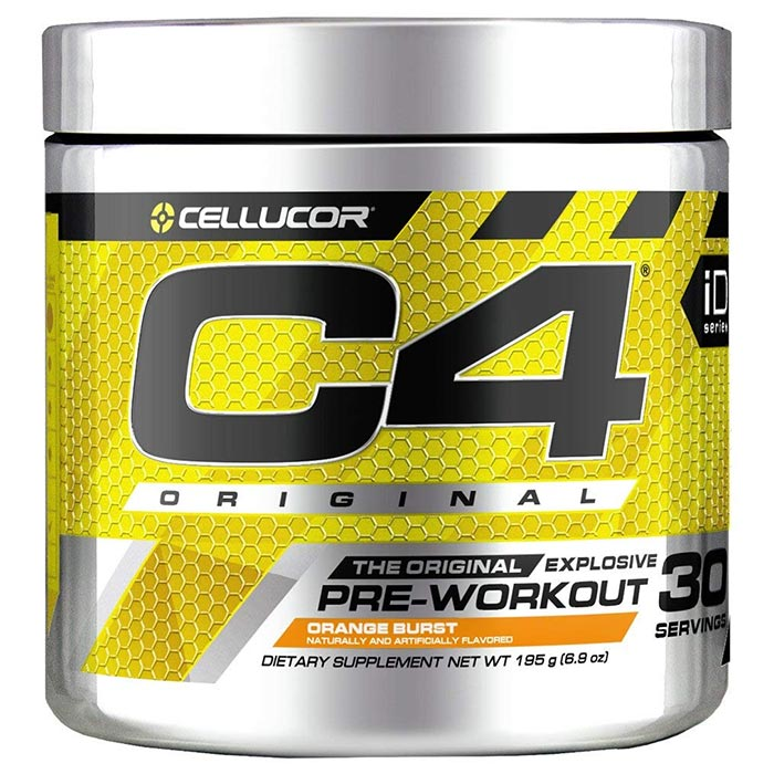 C4 30 Servings Orange Burst