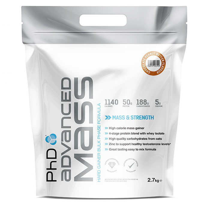 Image of PHD Nutrition Advanced Mass 2.7kg - Chocolate Peanut
