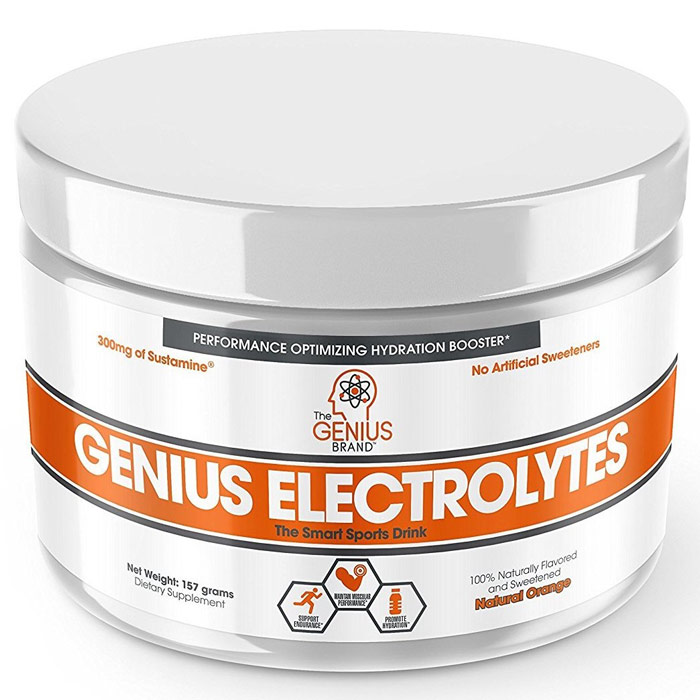 Image of Genius Genius Electroyltes 30 Servings Natural Orange