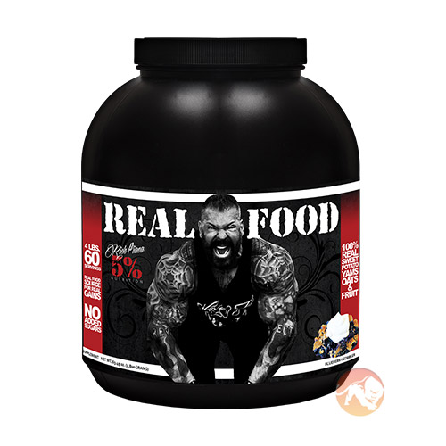 Image of 5% Rich Piana Real Food 1.8kg - Blueberry Cobbler