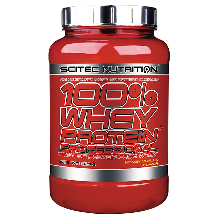 100% Whey Protein Professional 920g Honey Vanilla