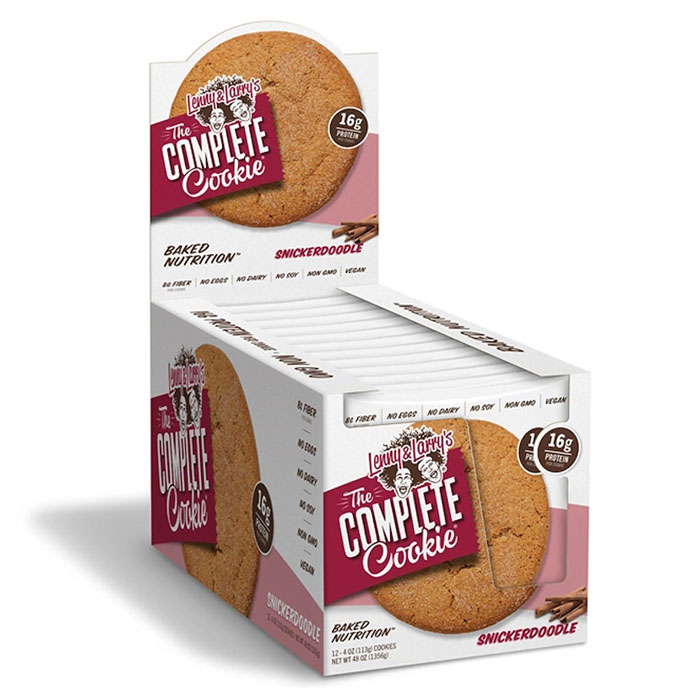 Image of Lenny & Larry's Complete Cookie 12 Pack Snickerdoodle