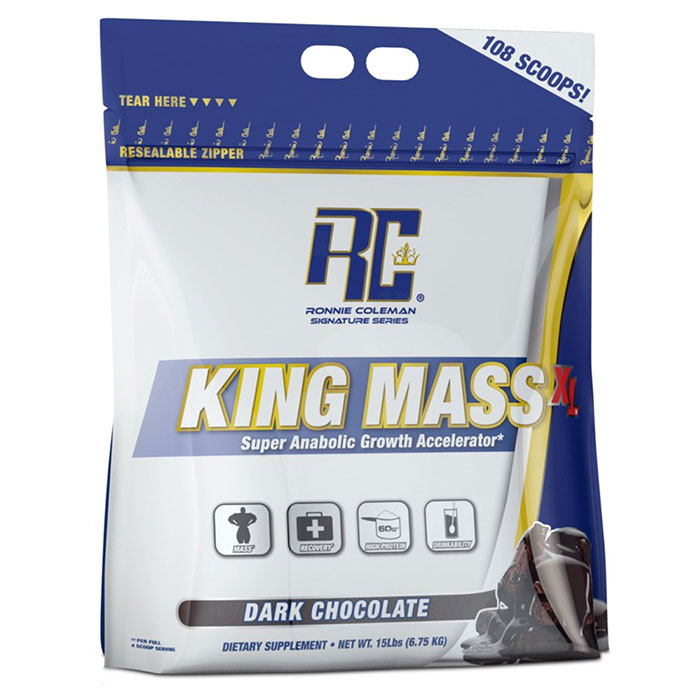 Image of Ronnie Coleman SignatureSeries King Mass XL 15lb - Dark Chocolate