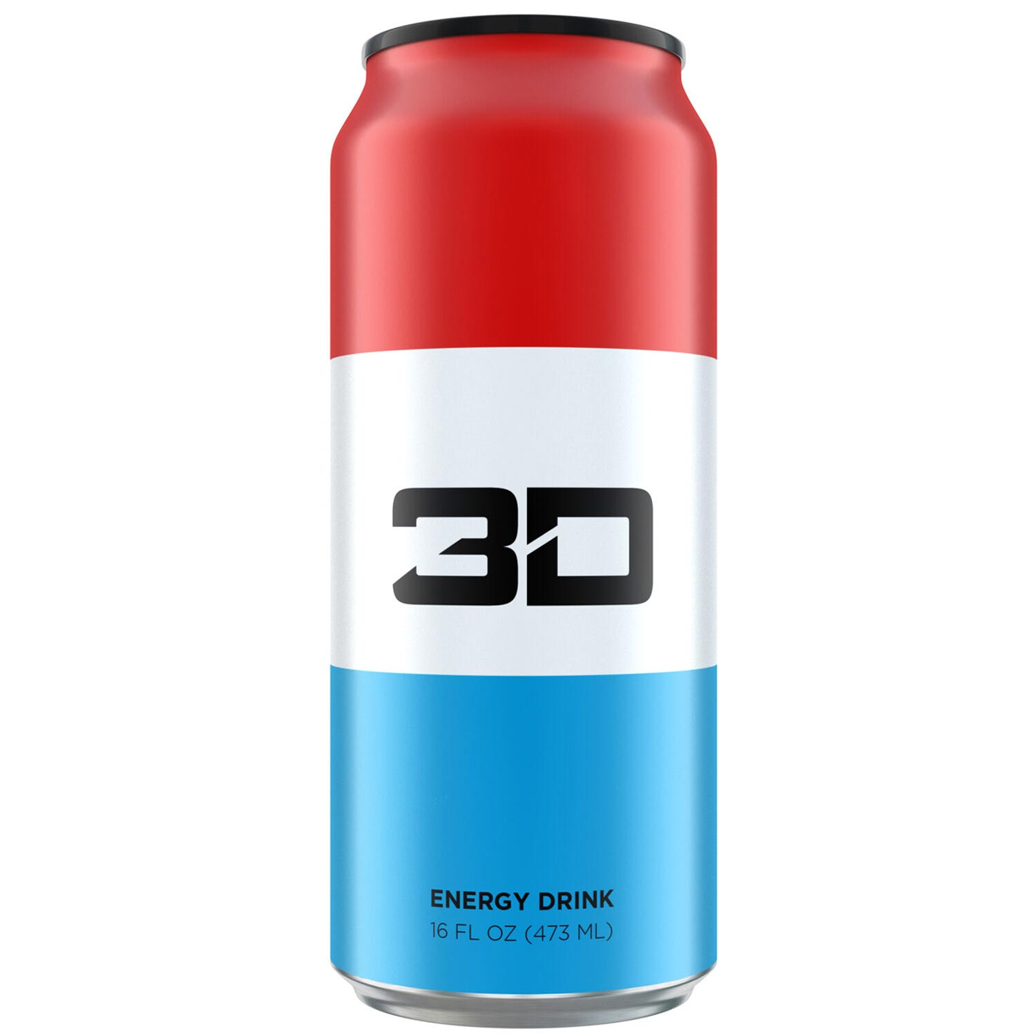 Image of 3D Energy 3D Energy Drink 1 Can Liberty Pop