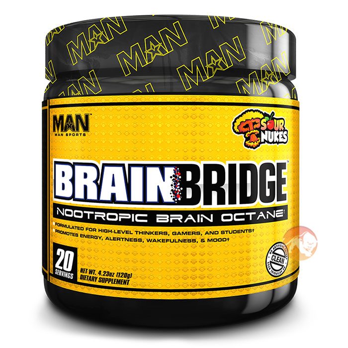 Image of Man Sports BrainBridge 20 Servings Lemon Drop
