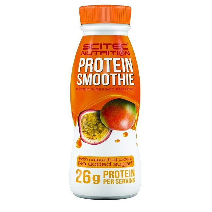 Scitec Protein Smoothie 8 Bottles Mango & Passion Fruit