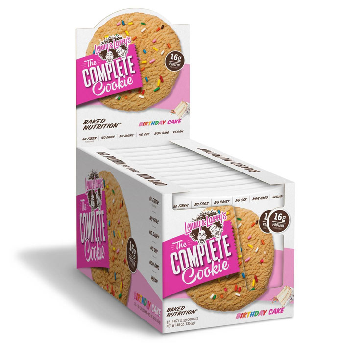 Image of Lenny & Larry's Complete Cookie 12 Pack Birthday Cake
