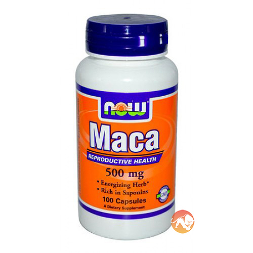 Image of NOW Foods Maca 500mg 100 Caps