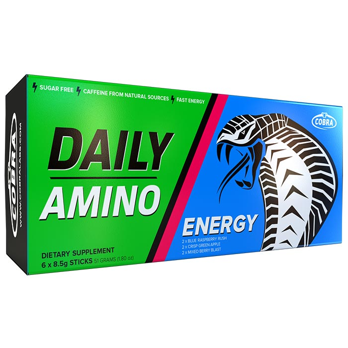 Image of Cobra Labs Daily Amino 6 Servings Mixed Flavors