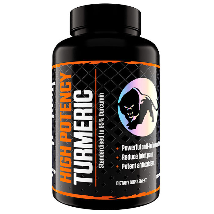 Image of Predator Nutrition High Potency Turmeric 120 Caps
