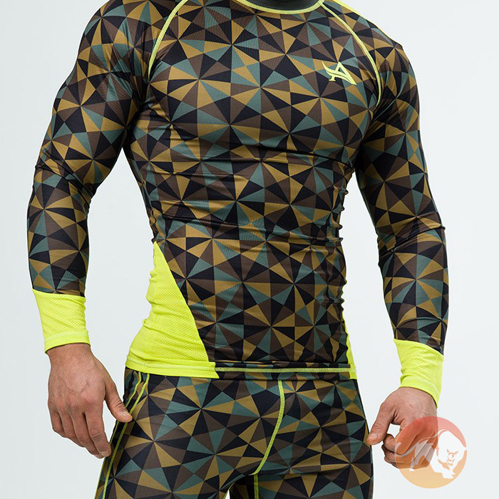 Longsleeve Compression Camo Large