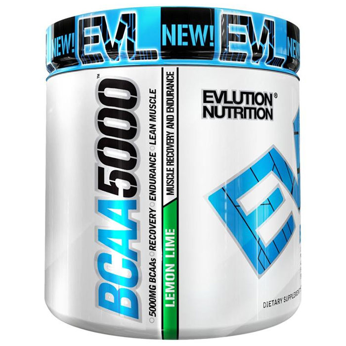 Image of Evlution Nutrition BCAA5000 30 Servings Lemon Lime