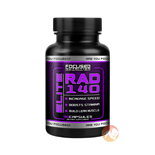 Image of Focused Nutrition Elite RAD 140 90 Capsules