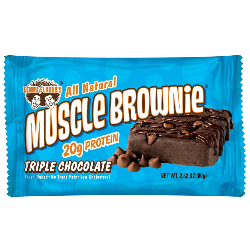 Muscle Brownie Caramel Walnut