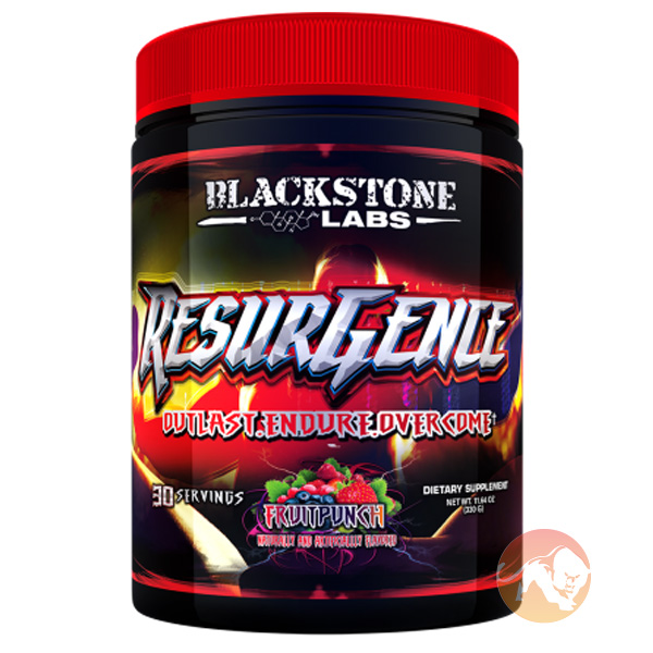 Image of Blackstone Labs Resurgence 30 Servings Fruit Punch