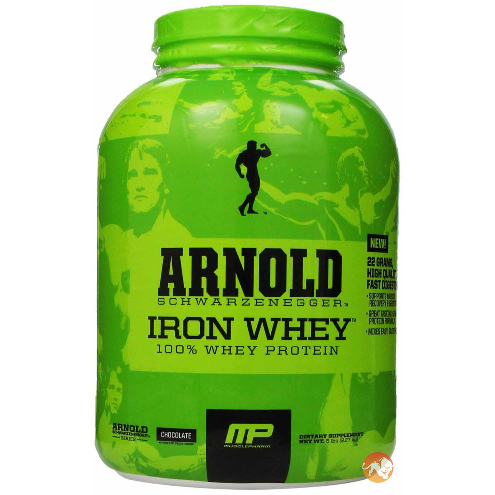 Image of Arnold Schwarzenegger Series Iron Whey 5lb Chocolate