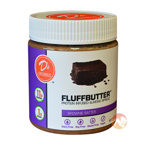 Image of No Cow Fluffbutter 284g Almond Brownie Batter