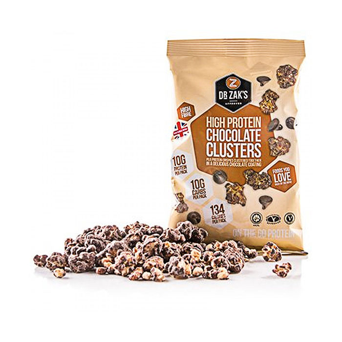 Image of Dr Zaks High Protein Clusters 1 Pack Chocolate