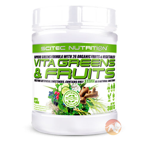 Vita Greens and Fruits 360g Pear Lemon Grass