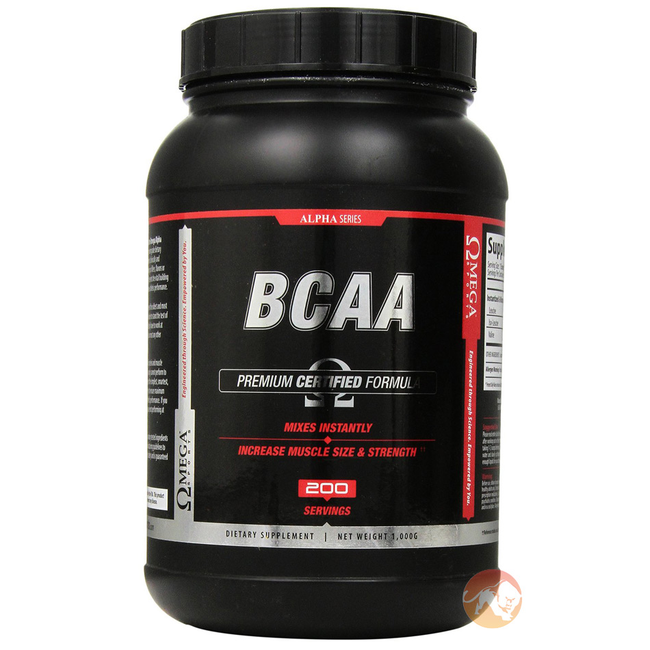 Image of Omega Sports Alpha Series BCAA 1kg