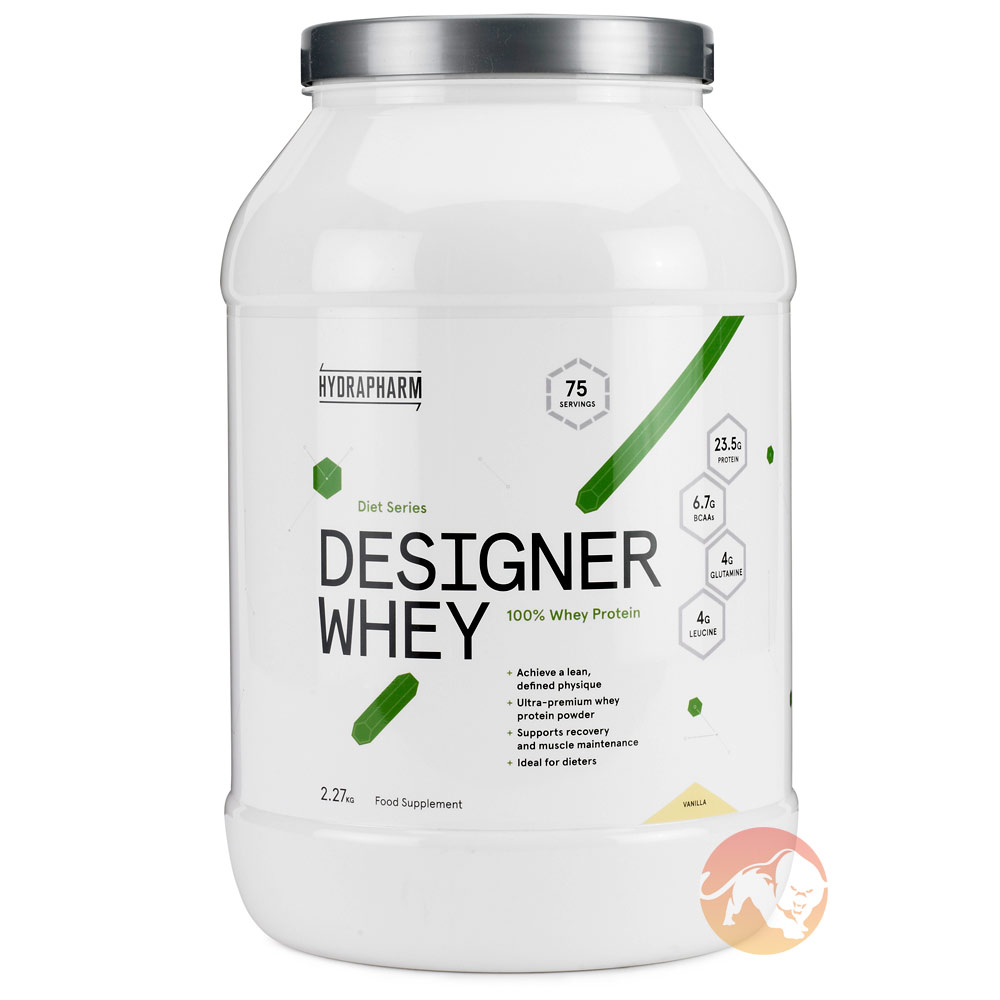 Designer Whey Sample Strawberry Milkshake